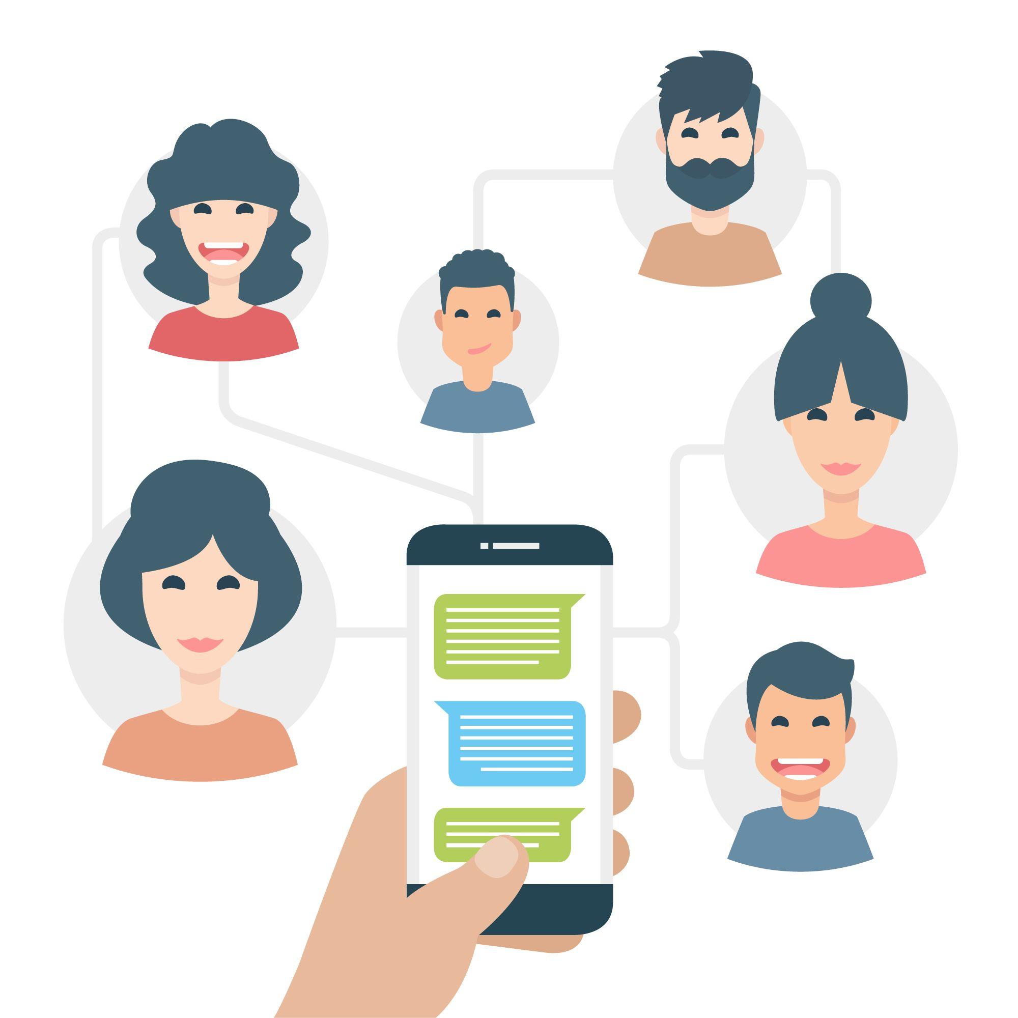 SMS ügyfélinterakció